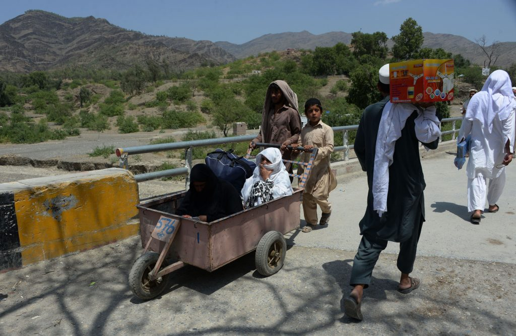 AFGHANISTAN-UNREST-BORDER-PAKISTAN