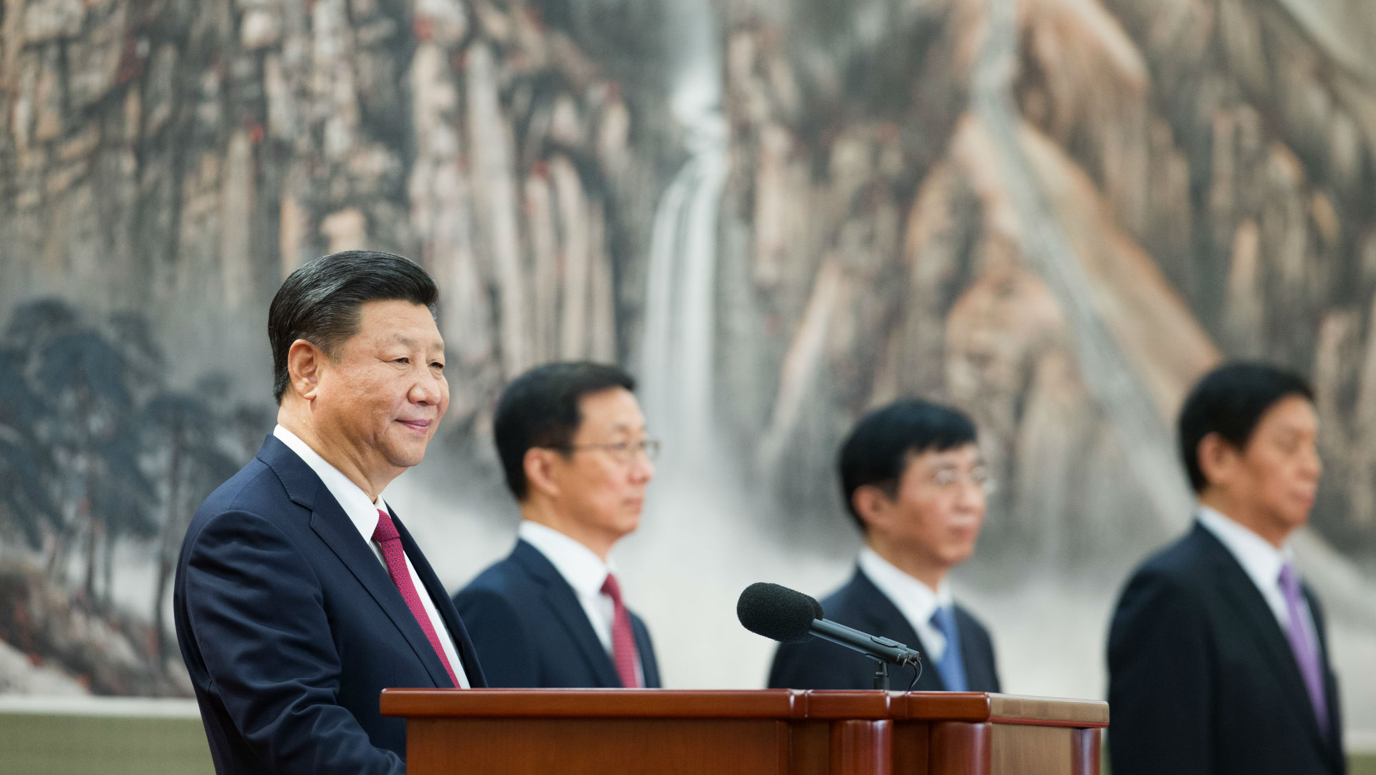 China Xi Jinping Politiburo