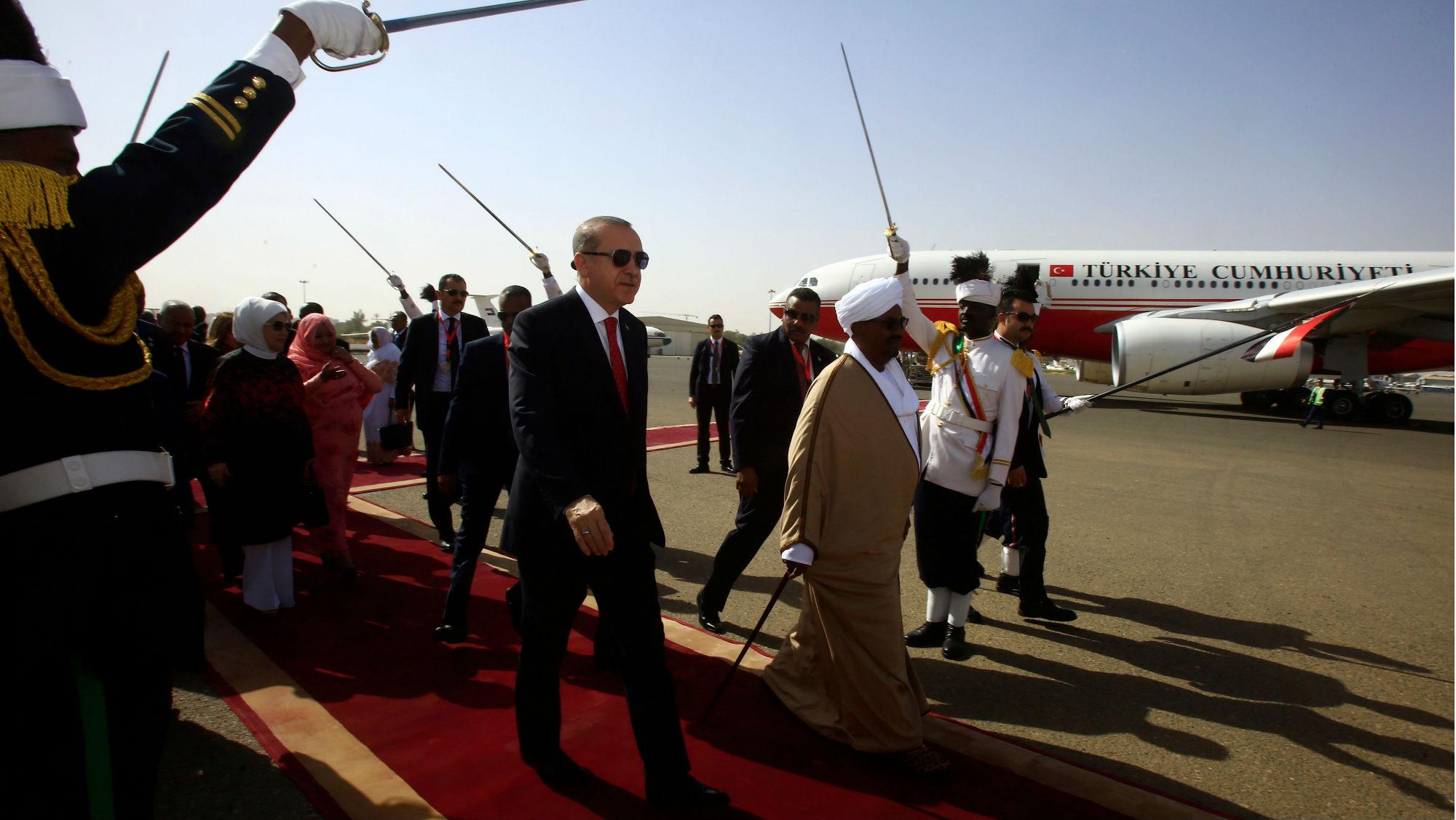 Erdogan Turkey Sudan North Africa
