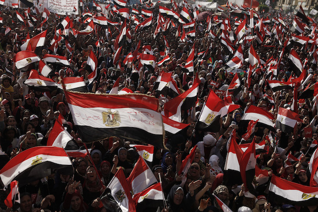Protests Mark The Anniversary Of Morsi Election