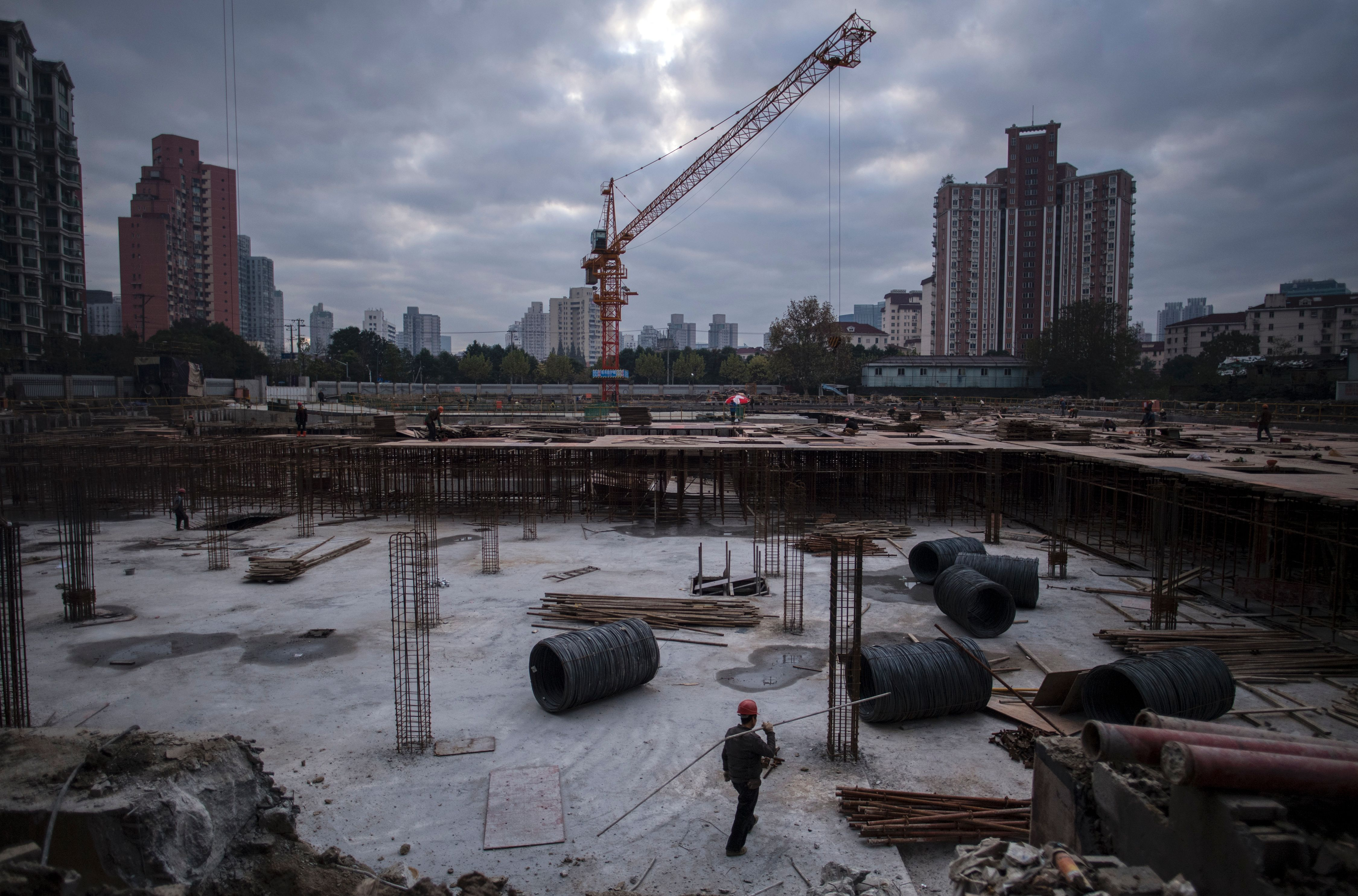 China economy real estate
