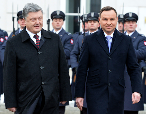 POLAND-UKRAINE-DIPLOMACY