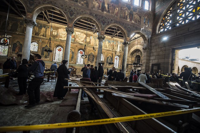 EGYPT-BOMB-UNREST-BLAST-RELIGION