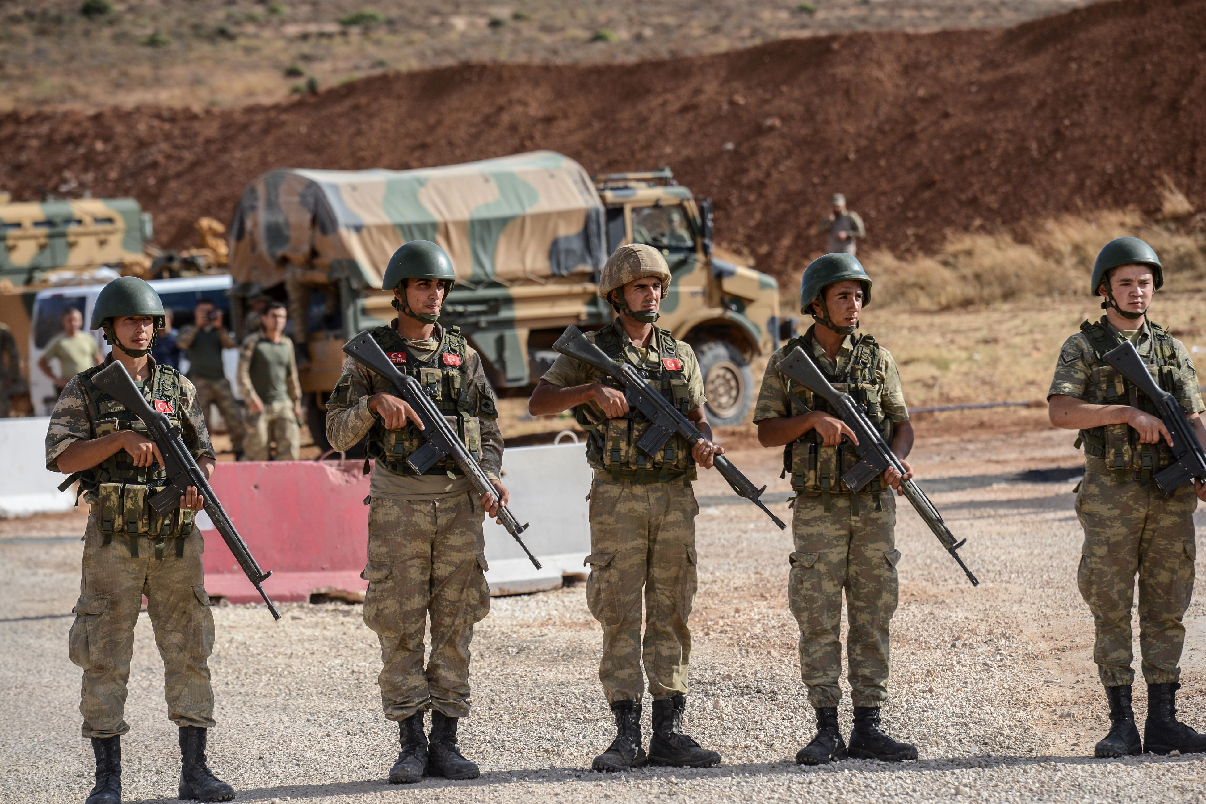 Syria-Turkey-Idliv