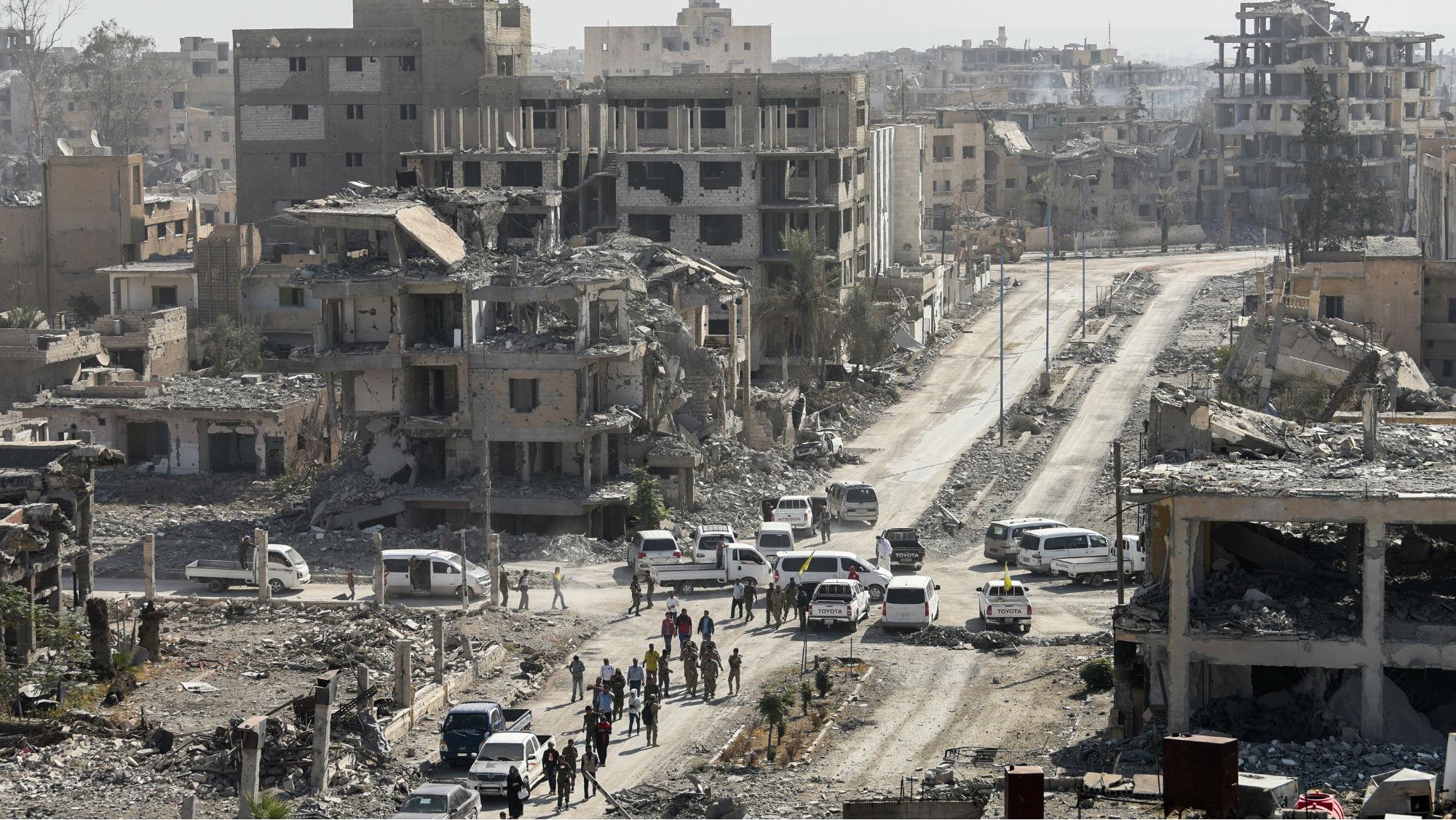 Islamic State Syria Raqqa