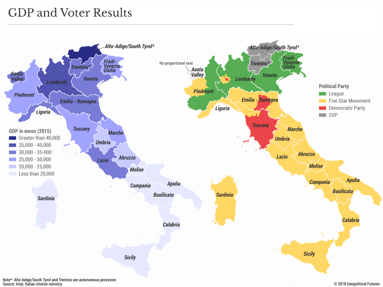 Map Of South Of Italy.Italy Isn T Done With The Eu Just Yet Geopolitical Futures