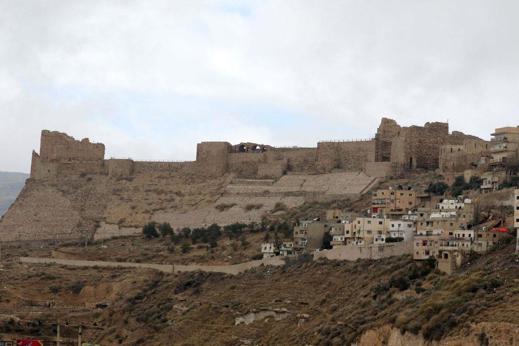 Jordan Crusader castle