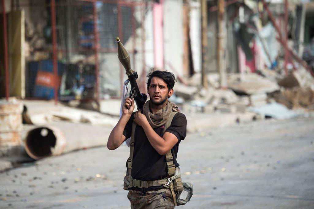 Iraq Mosul Soldier
