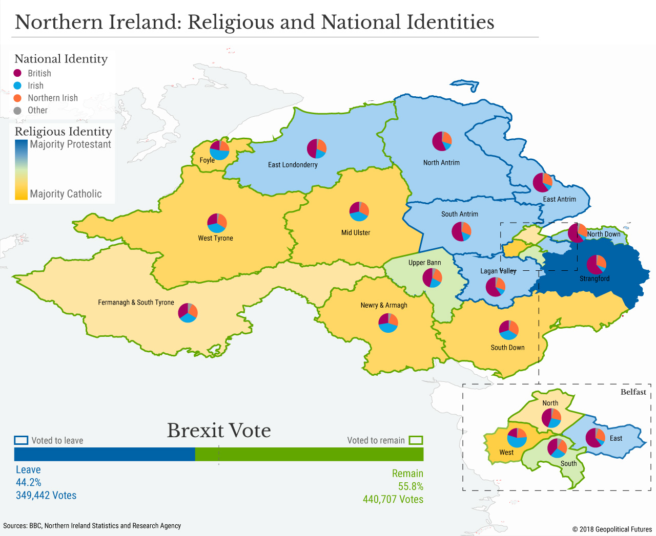 Map Of North And South Ireland.A Provisional Brexit Deal On Northern Ireland Geopolitical Futures