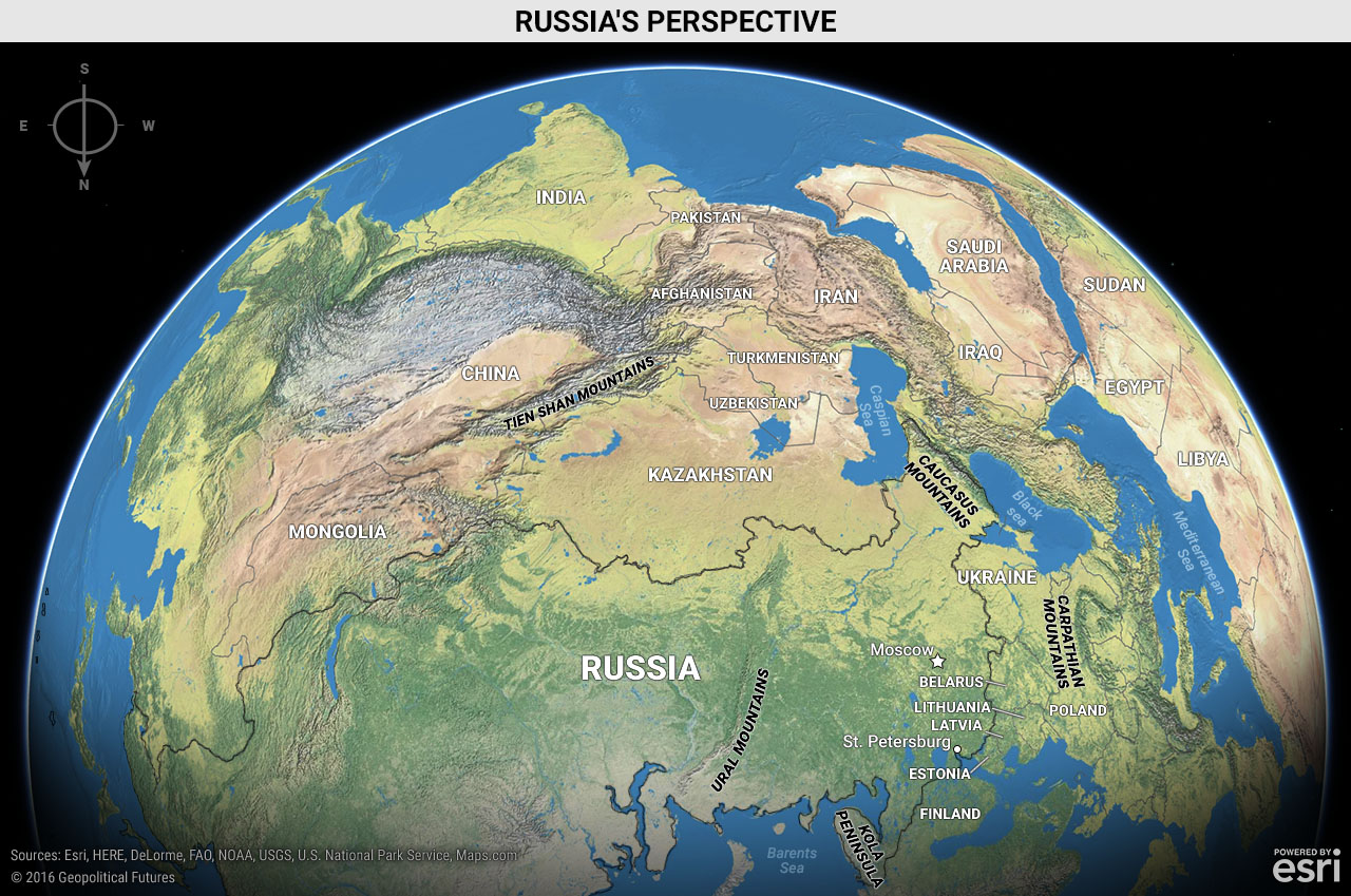 Image of: Russia S Perspective Geopolitical Futures