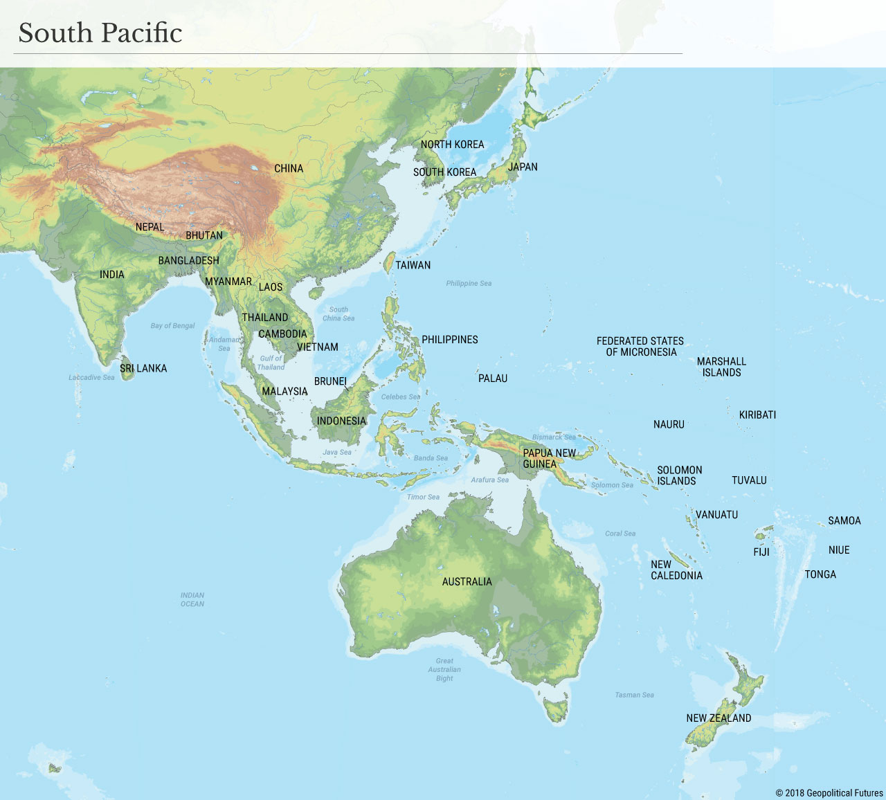 The Coral Sea: The Mirror Image of the South China Sea ...