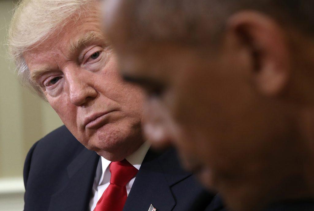 Trump Meets Obama