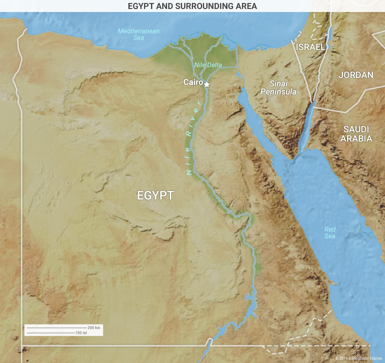 egypt-surrounding-area