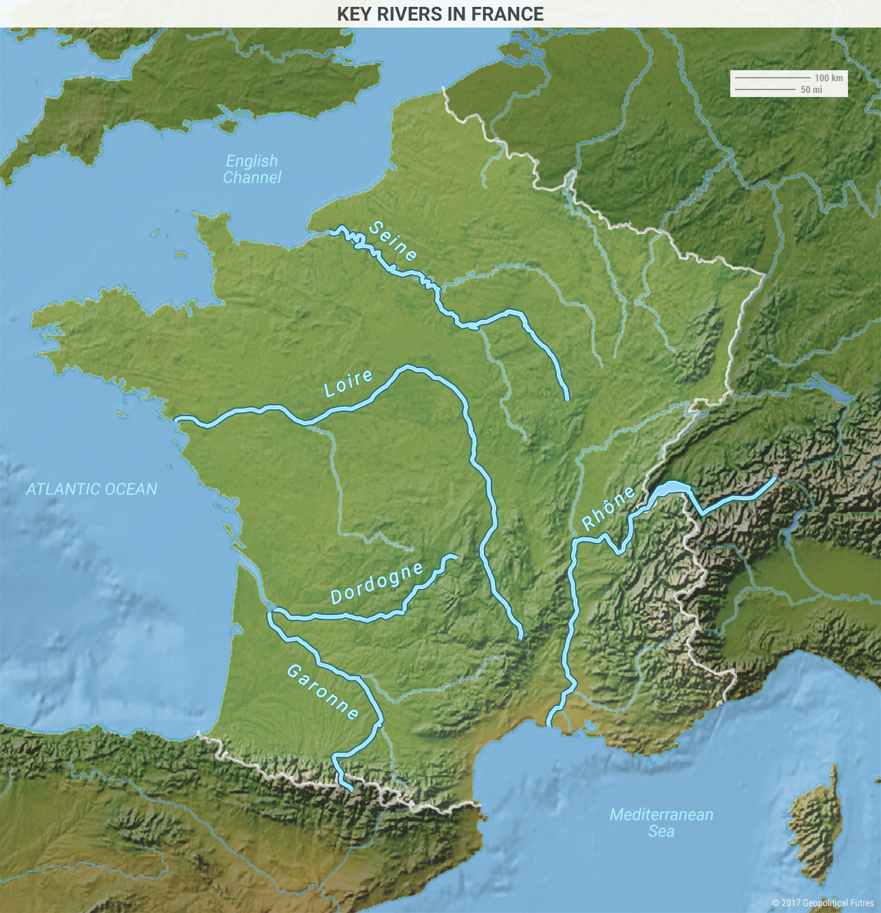 Map Of France North Coast.France As A Northern And Southern European Power Geopolitical Futures