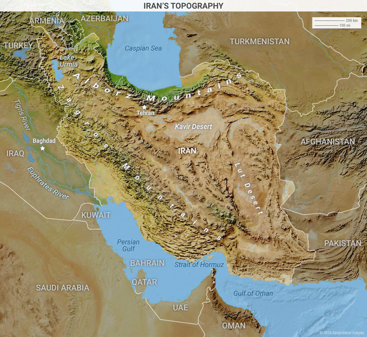iran-topography