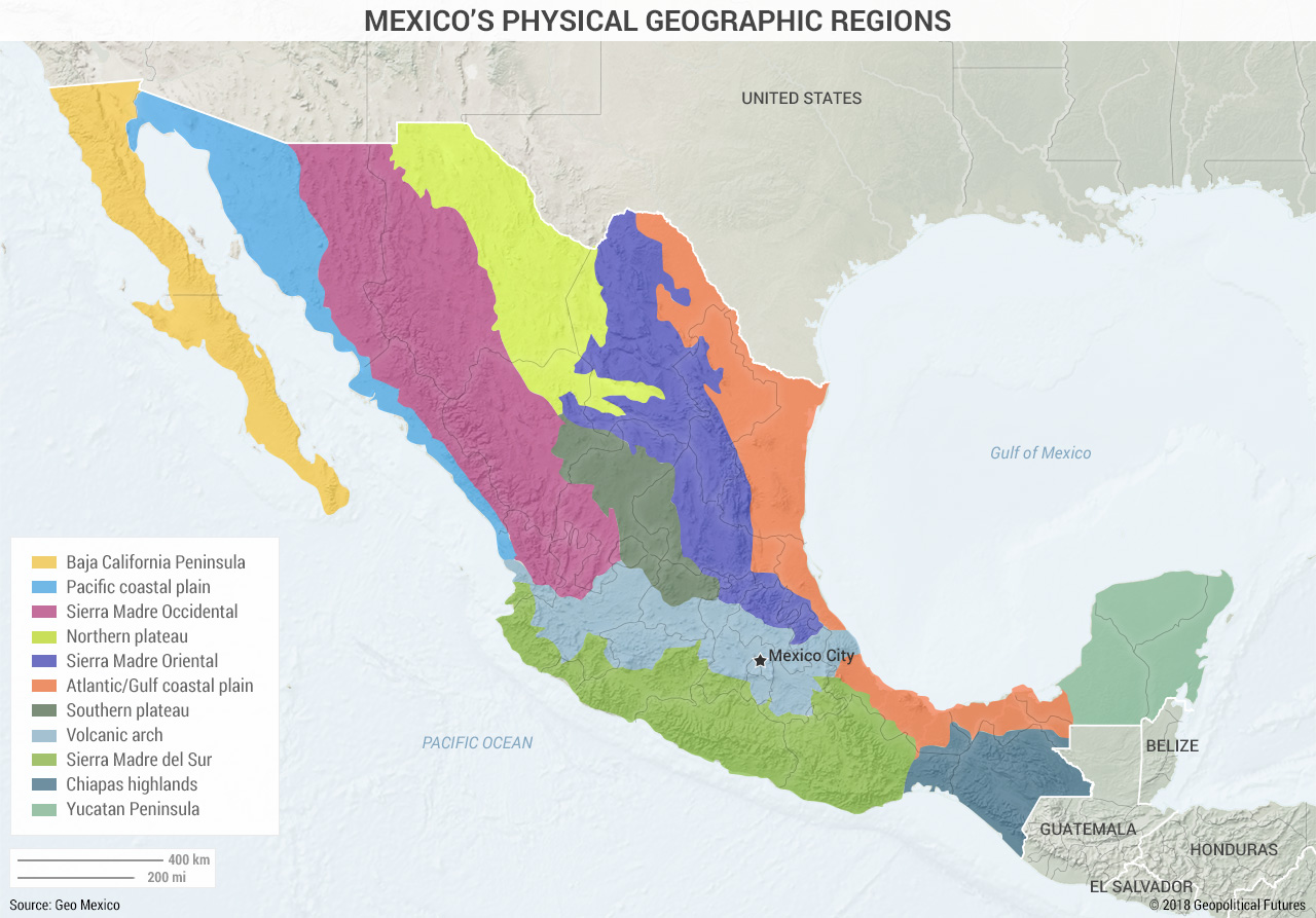 Obstacles To Mexico S Territorial Control Geopolitical Futures