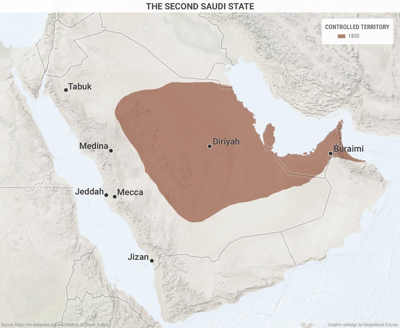 second-saudi-state