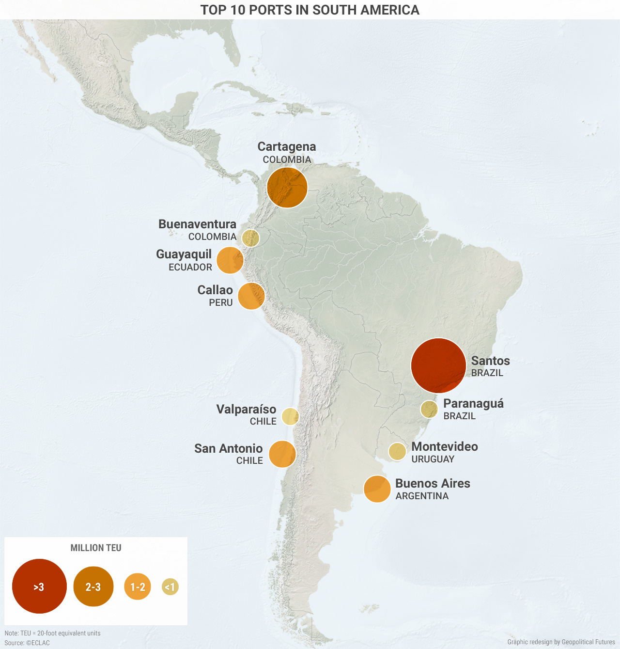 South America\'s Strategic Value to Mexico | Geopolitical Futures