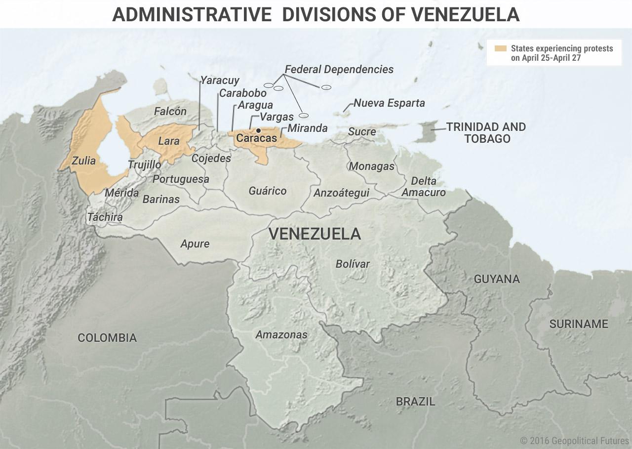 venezuela-administrative-division