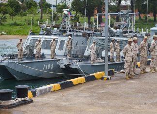 Naval base in Cambodia