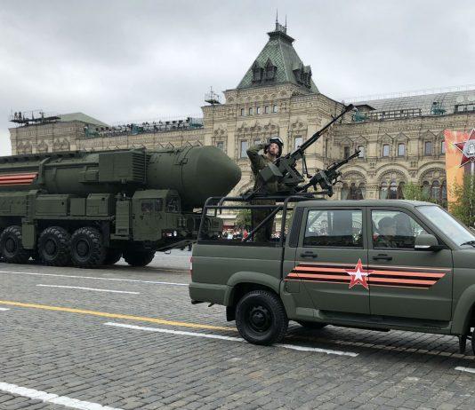 Russian Yars ballistic nuclear missiles