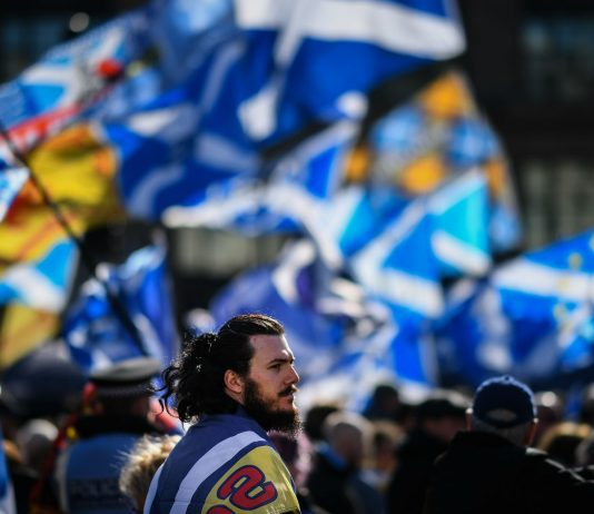 Scottish rally for independence