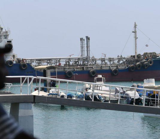 Shipping near the UAE