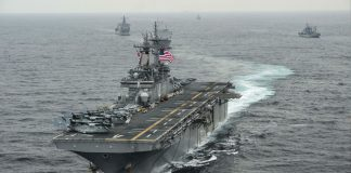 USS Boxer amphibious assault ship
