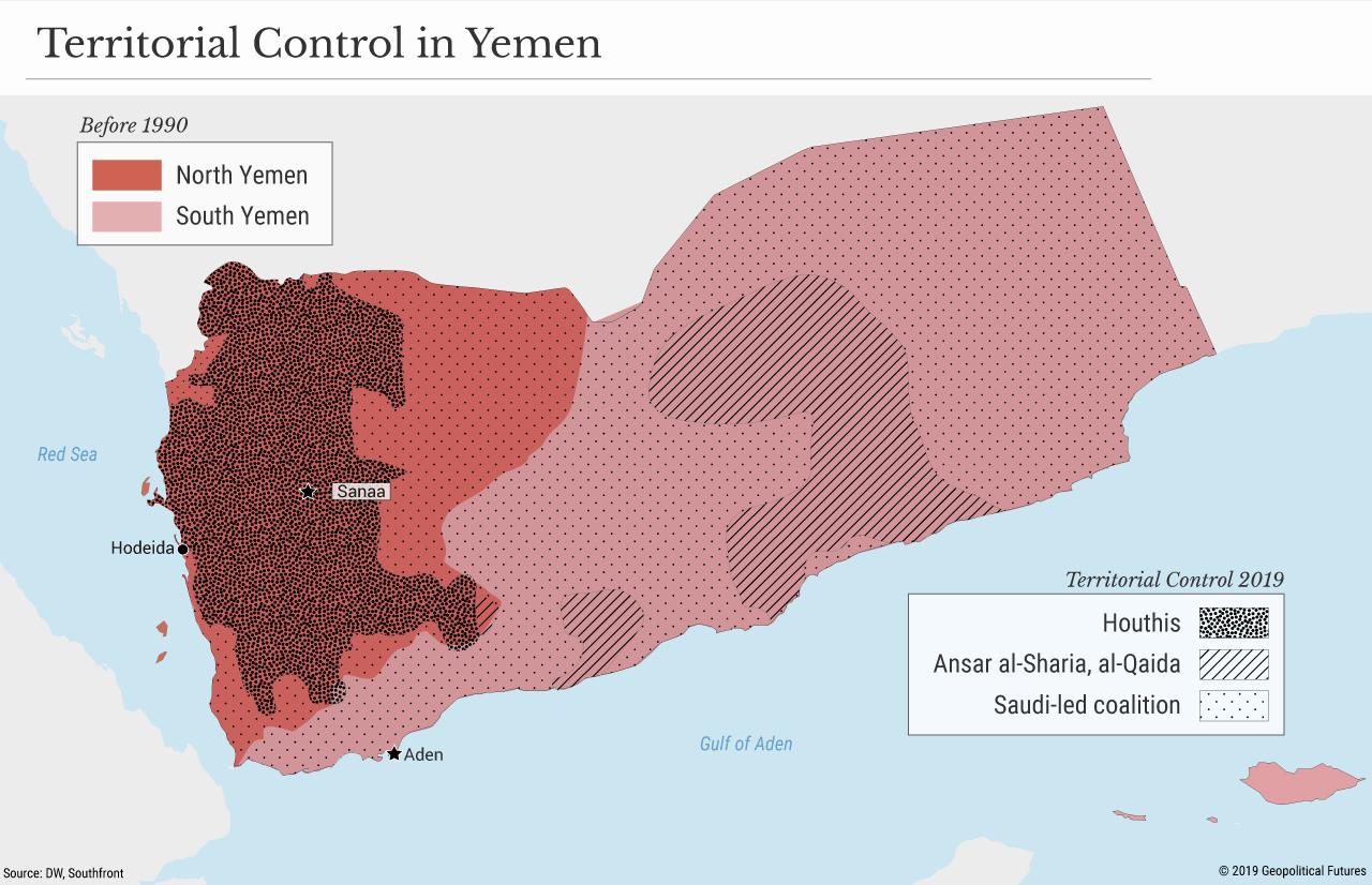 Territorial Control in Yemen