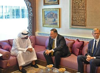 Mike Pompeo meets with UAE crown prince
