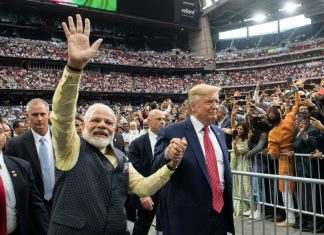 US President Donald Trump and Indian President Narendra Modi