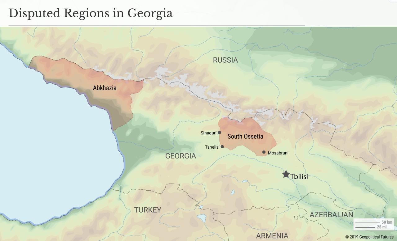 Disputed Regions in Georgia