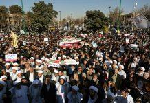 Iran pro-government protest