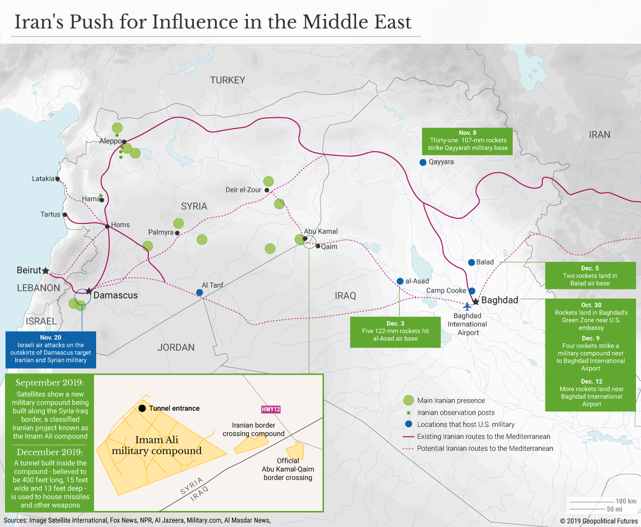 Iran's Push for Influence in the Middle East