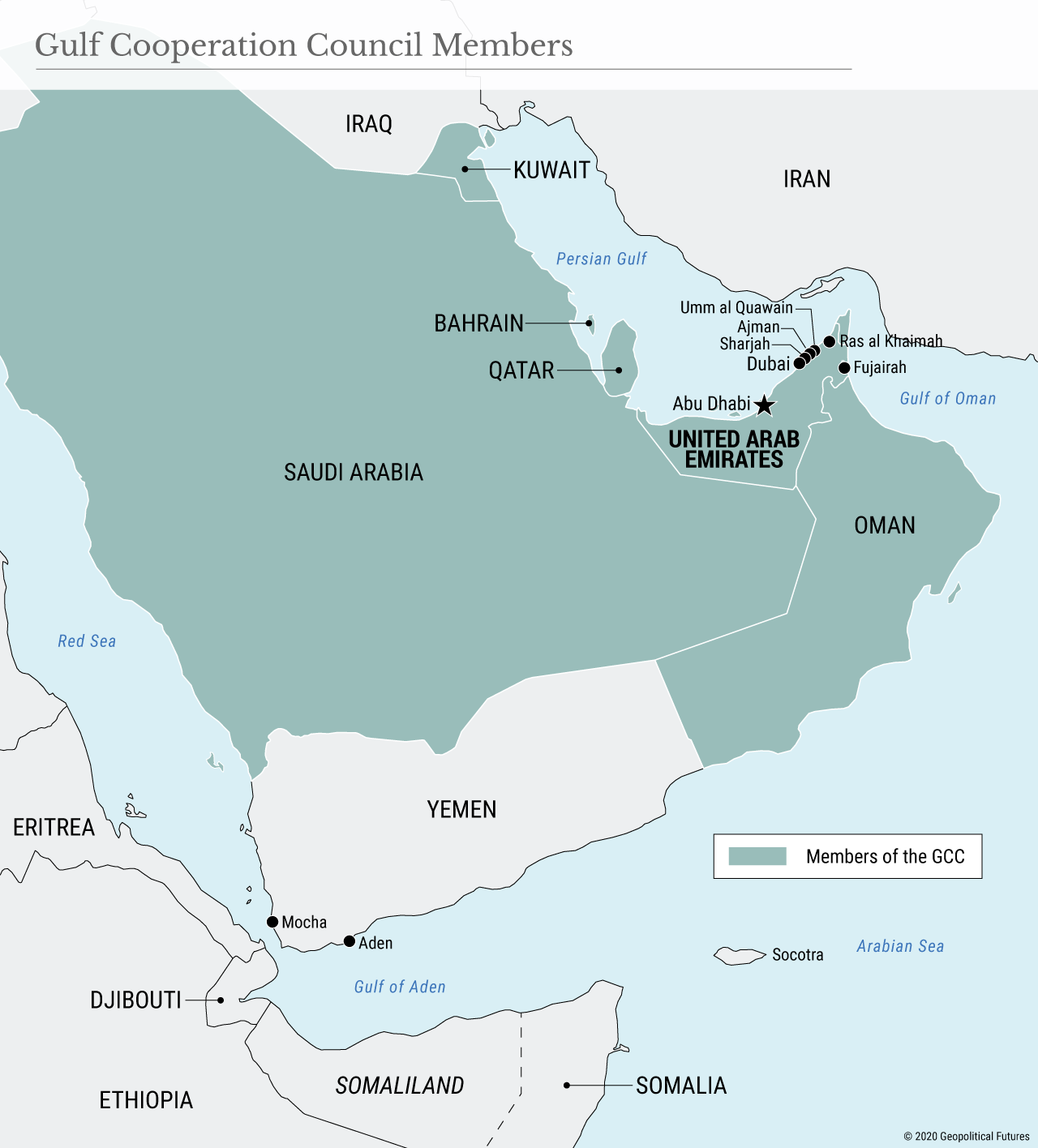 Gulf Cooperation Council Members
