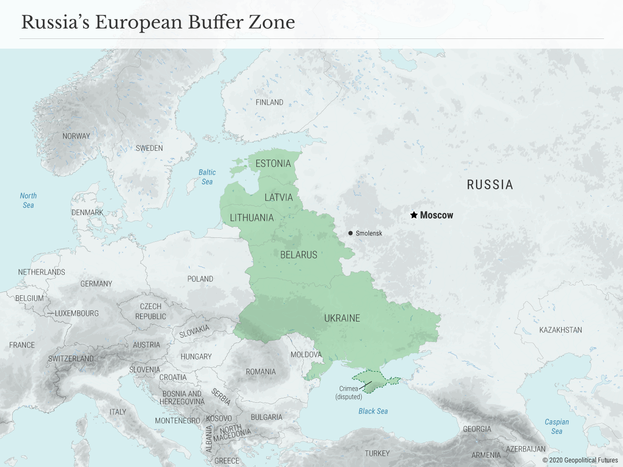 Russia's European Buffer Zone