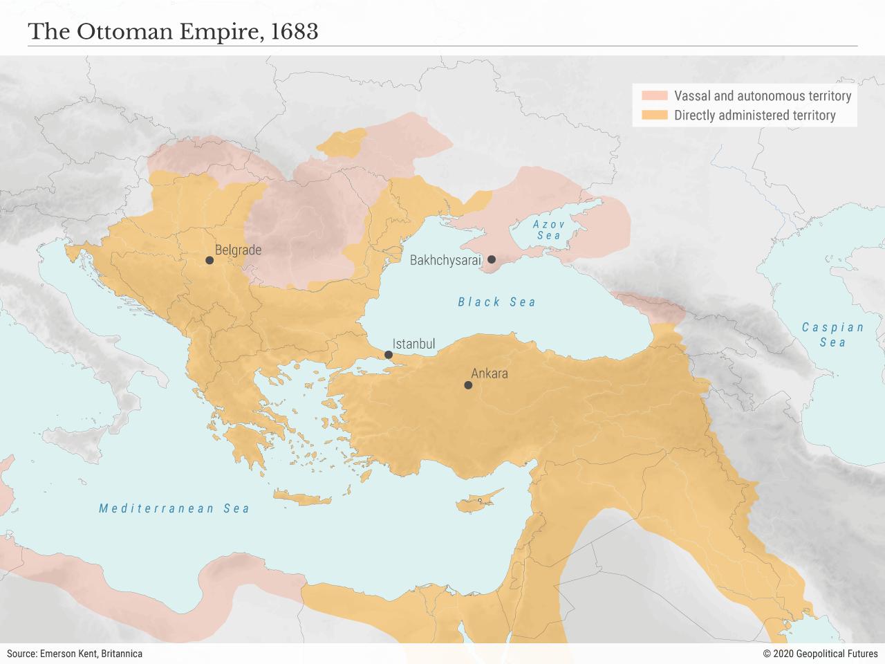 The Ottoman Empire, 1683