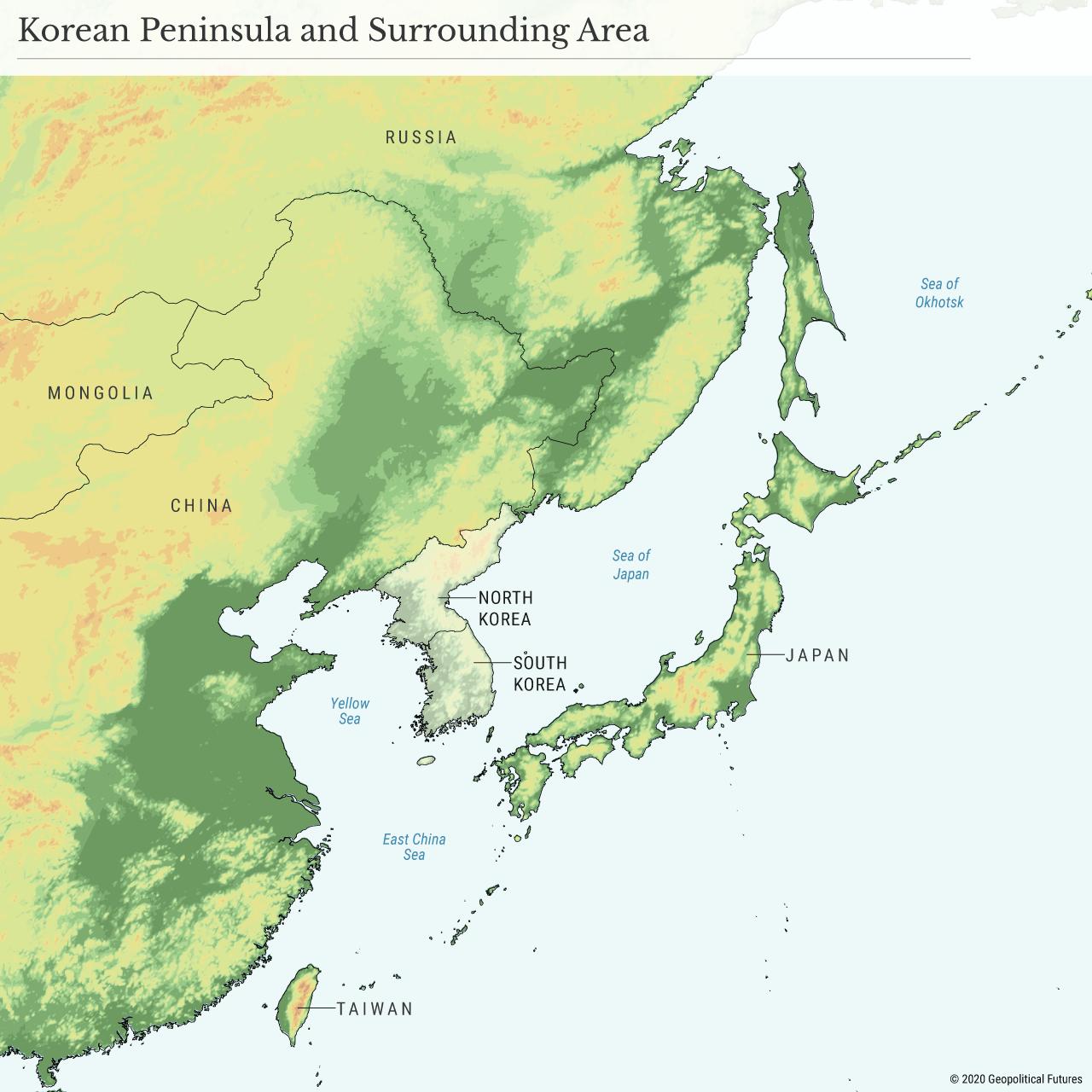 Korean Peninsula and Surrounding Area