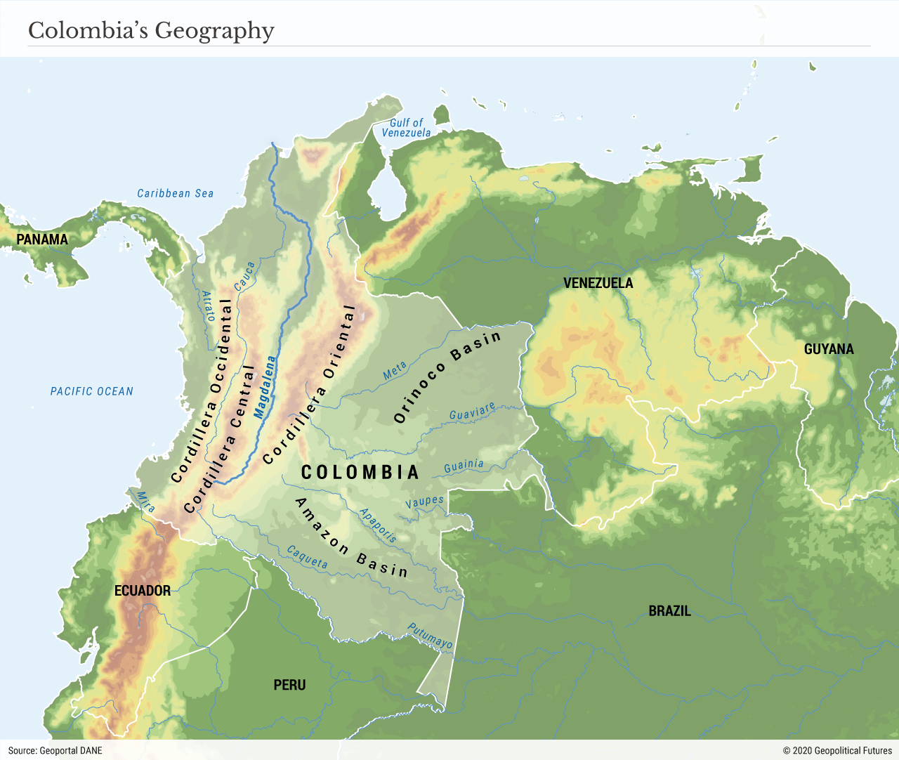 Colombia's Geography