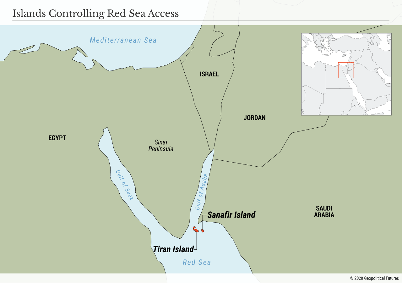 Islands Controlling Red Sea Access