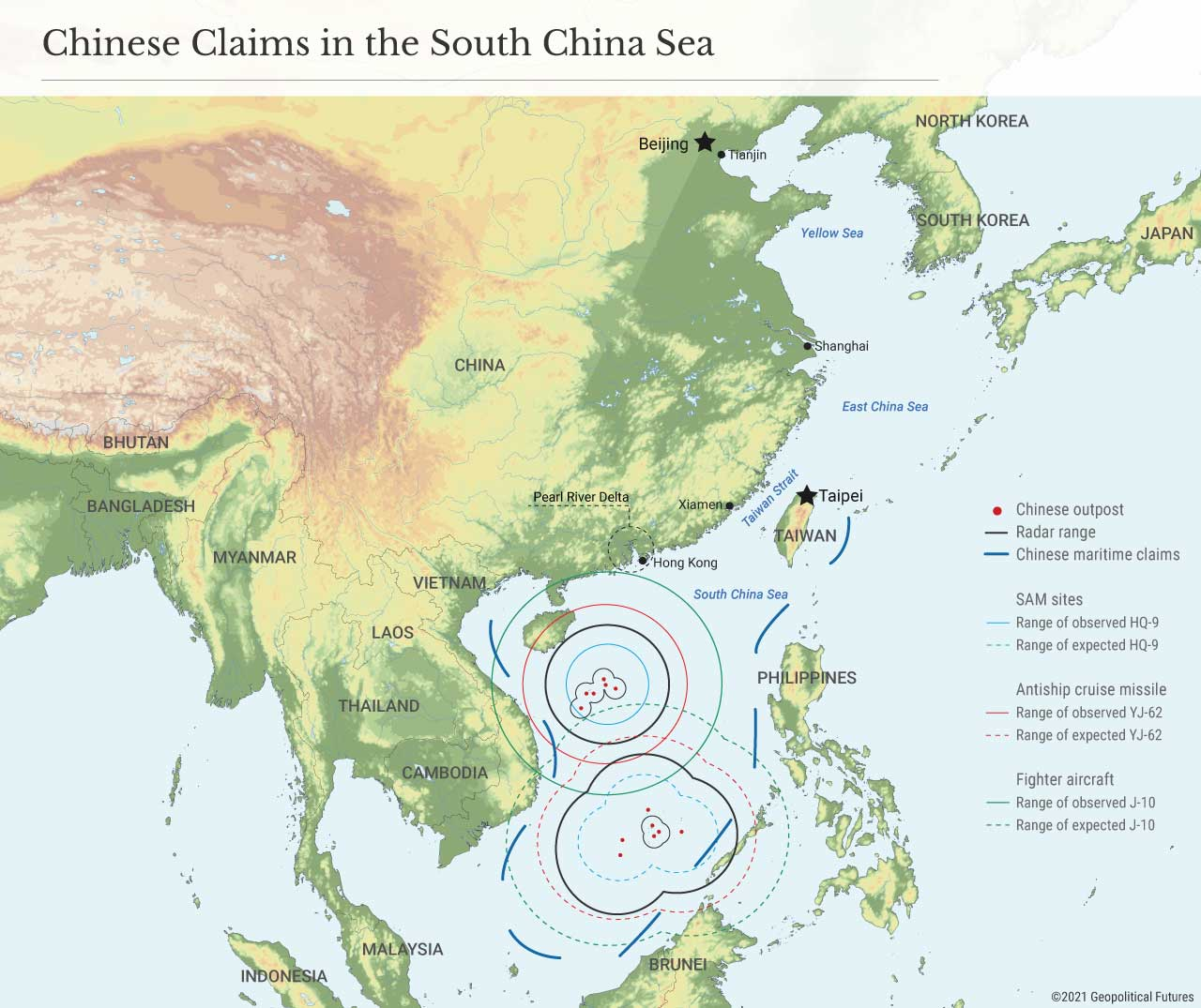 Chinese Claims in the South China Sea