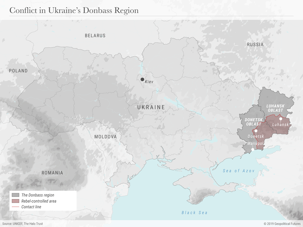 Conflict in Ukraine's Donbass Region